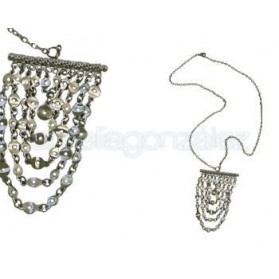 PENDANT SILVER PLATED NECKLACE