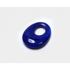 Lapislazuli Oval taladro excentrico