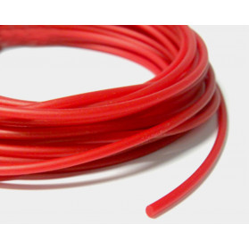 CORAL RED SOLID RUBBER