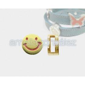Pasador Cara sonriente para 10x2mm