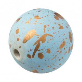 Bola Azul Celeste  -100 pcs
