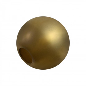 BOLA ACRILICO 12MM POLARIS AB (TAL. 4MM) BRONCE VIEJO
