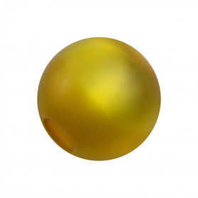 BOLA ACRILICO 12MM POLARIS AB (TAL. 4MM) DORADO
