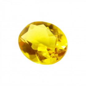 HYDROTHERMAL CITRINE SYNTHETIC OVAL CUT