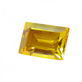 HYDROTHERMAL  CITRINE rRECTANGLE CUT