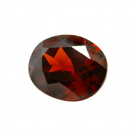 HYDROTHERMAL GARNET COLOR OVAL SYNTHETIC