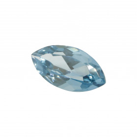 SYNTHETIC ACQUAMARINE SPINEL MARQUISE CUT