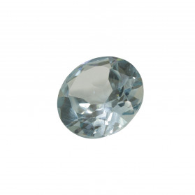 SYNTHETIC ACQUAMARINE ROUND CUT