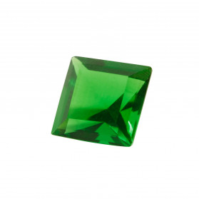 HARD MASS EMERALD SYNTHETIC SQUARE CUT