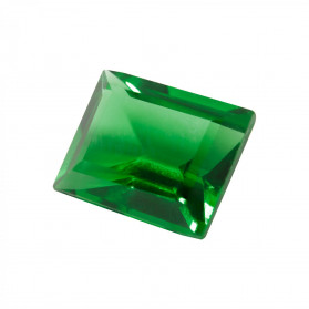 HARD MASS EMERALD RECTANGLE POINT SHAPED CUT