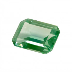 SYNTHETIC ERENITE SPINEL EMERALD CUT