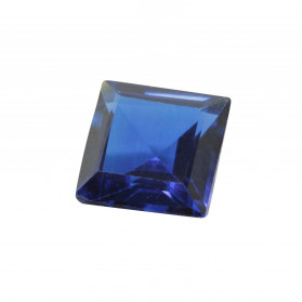 SYNTHETIC BLUE SPINEL SQUARE CUT