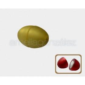 Cierre Magnético dorado sartinado para cordón