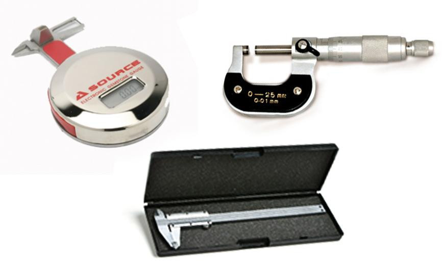 Calipers and sizing tools