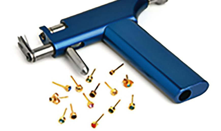 Piercing earrings and piercing tools