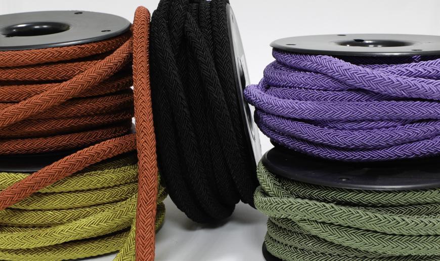 Rayon twill cord