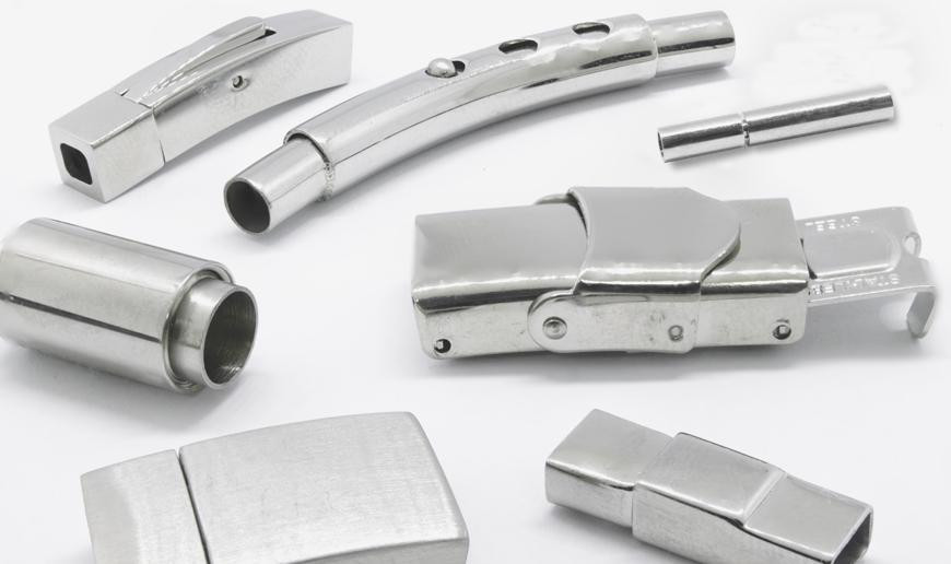 Steel buckles and endcaps