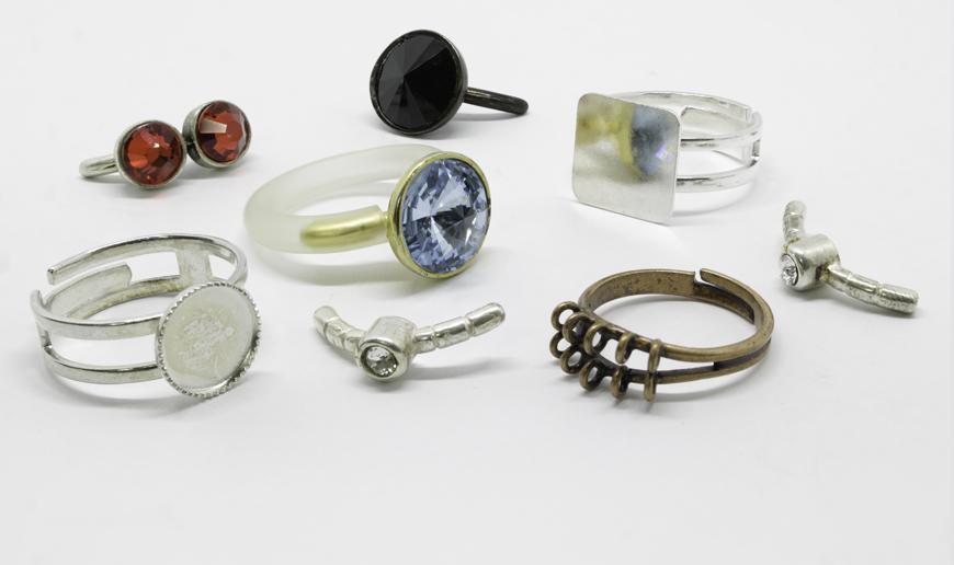 Metal ring parts