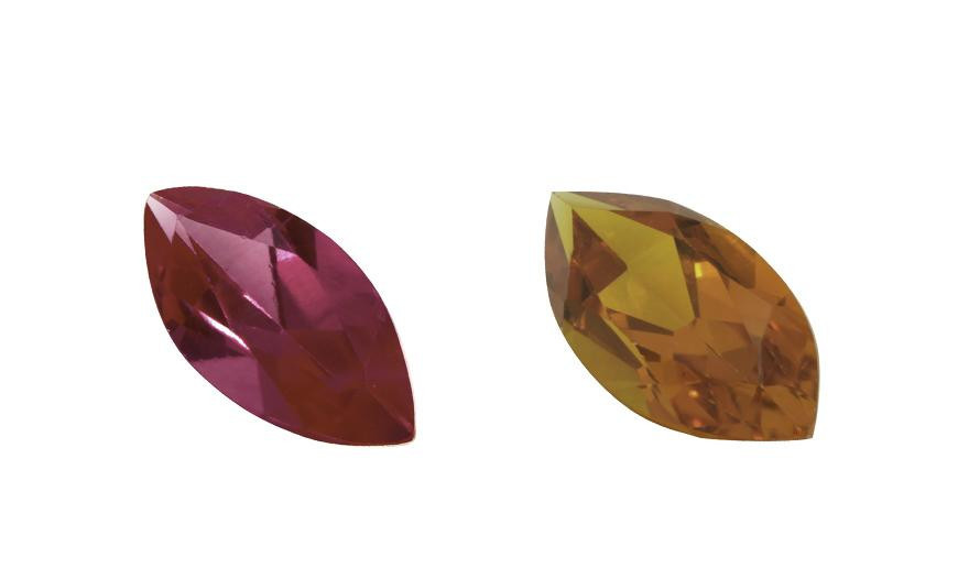 FACETED MARQUISE SHAPE STONES