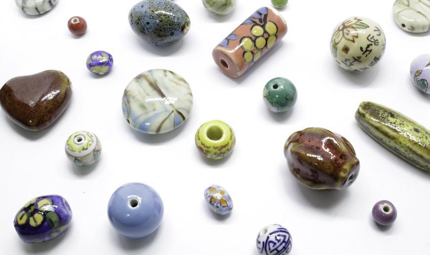 Abalorios de Porcelana