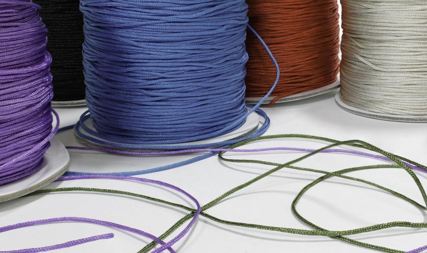Macramé nylon cord
