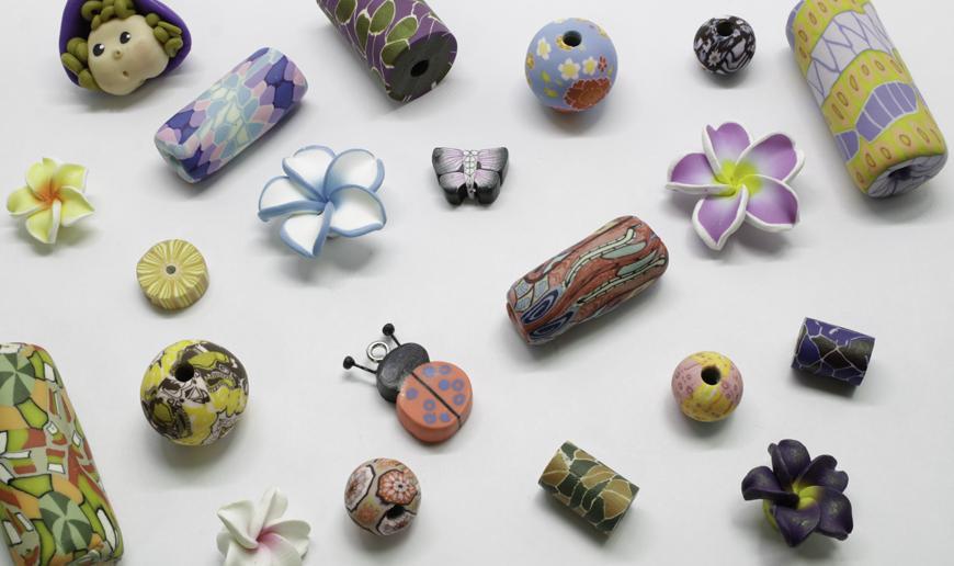 Fimo beads