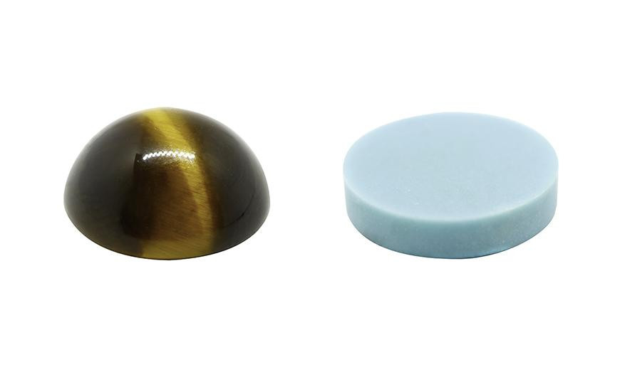 CABOCHON AND FLAT ROUND STONES