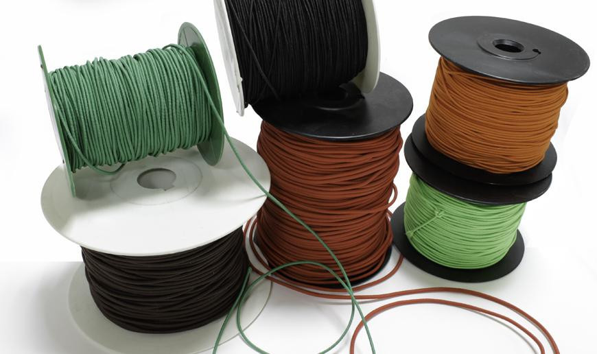 Polyester elastic wire