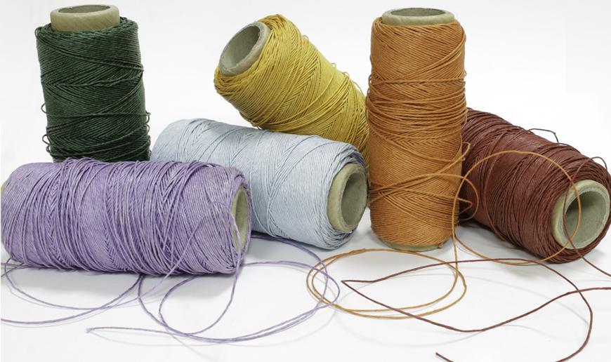 Natural linen cord