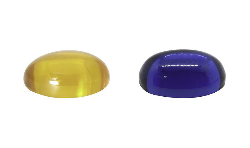 Cabujones sintéticos