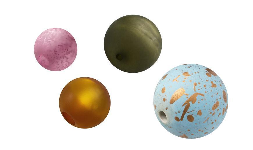 Cuentas, bolas acrilicas