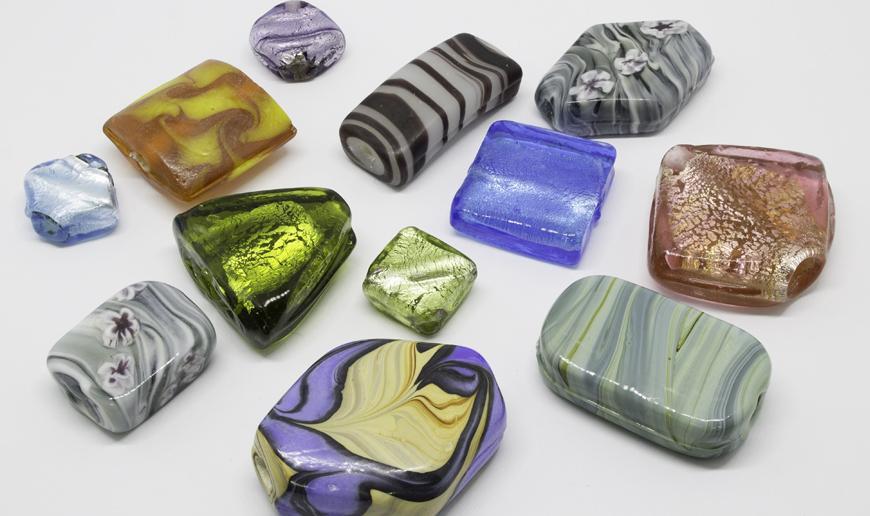 Fancy shape glass sliders