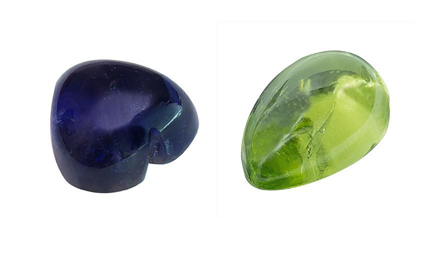 PEARSHAPE, MARQUISE AND HEART SHAPE FLAT STONES